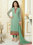 Vinay Fashion 3302 Green Color Georgette Designer Suit