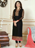 Vinay Fashion 3304 Black Color Georgette Designer Suit