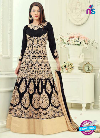 Sajawat 33061 Black Anarkali Suit
