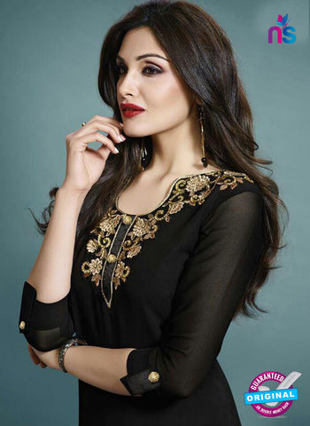 Vinay Fashion 33275 Black Designer Georgette Fancy Exclusive Party Wear XL Size Stitched Kurti Online