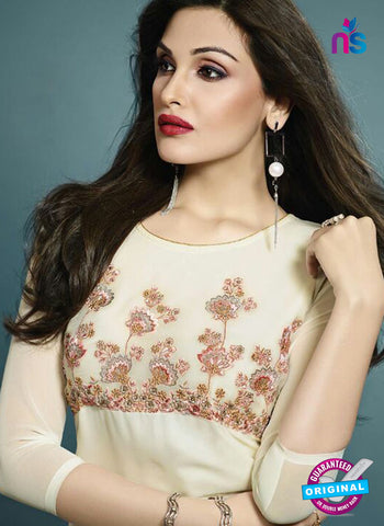 Vinay Fashion 33281 White Designer Georgette Fancy Exclusive Party Wear XL Size Stitched Kurti Online