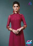 Vinay Fashion 33369 Maroon Designer Georgette Tunic