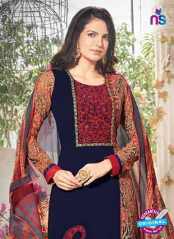 Bela 333 Blue Georgette Party Wear Suit Online