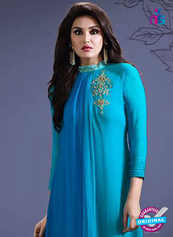 SC 14288 Sky Blue Georgette Tunic