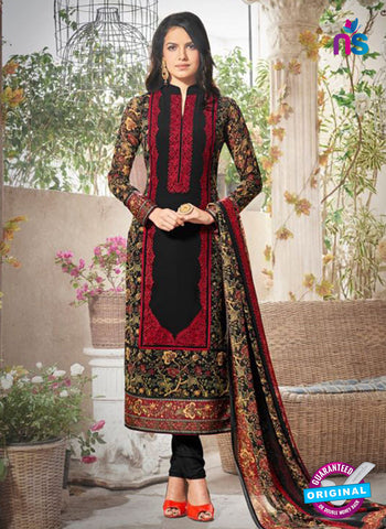 Bela 338 Black Georgette Party Wear Suit