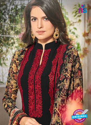 Bela 338 Black Georgette Party Wear Suit Online