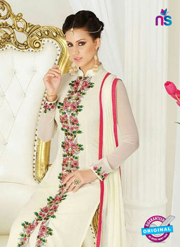 AZ 4043 Beige Georgette Party Wear Suit