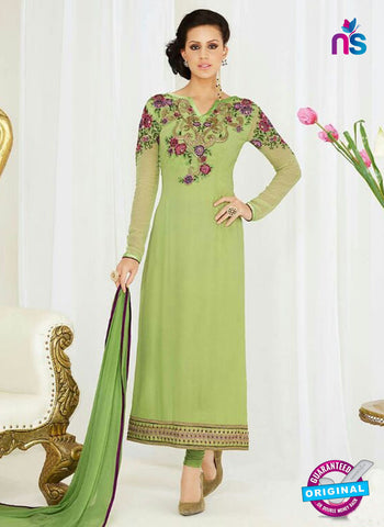 Raaga Krshna 3402 Green Georgette Party Wear Suit