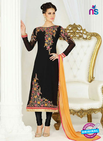 AZ 4046 Black Georgette Party Wear Suit