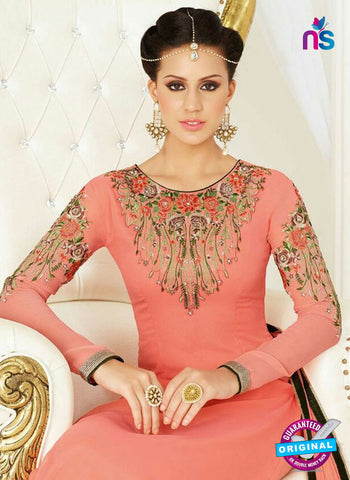 Raaga Krshna 3405 Peach Georgette Party Wear Suit Online