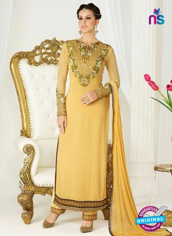 Raaga Krshna 3407 Yellow Georgette Party Wear Suit