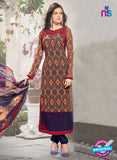 Bela 340 Multicolor Georgette Party Wear Suit