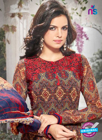Bela 340 Multicolor Georgette Party Wear Suit Online