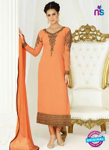 Raaga Krshna 3411 Orange Georgette Party Wear Suit