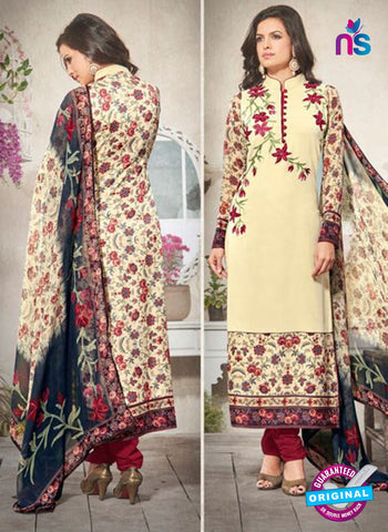 Bela 341 Beige Georgette Party Wear Suit