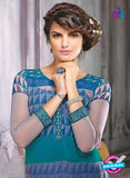 Ganga 3432 Blue Color Georgette Designer Straight Suit