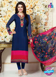 Vinay Fashion 3481 Blue and Pink Crape Party Wear Suit