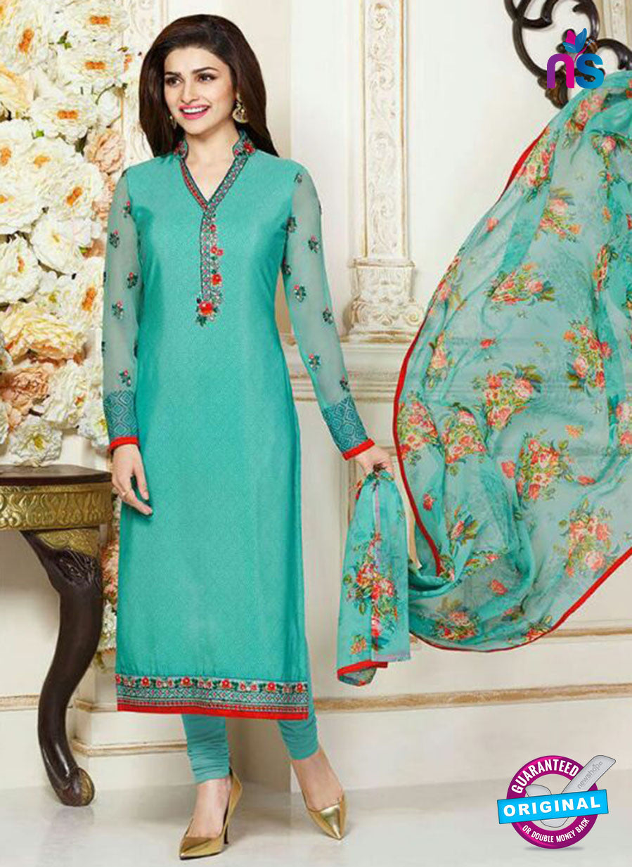 Vinay Fashion 3484 Blue Crape Party Wear Suit