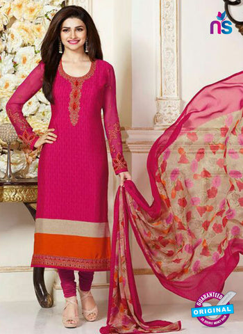 Vinay Fashion 3488 Pink Crape Party Wear Suit