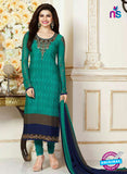 Vinay Fashion 3490 Green Crape Party Wear Suit