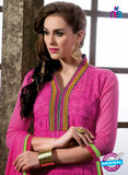 NS12271 Pink Straight Suit
