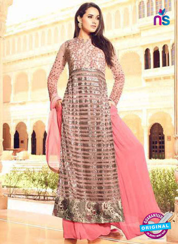 Mohini 35004 Peach Party Wear Suit
