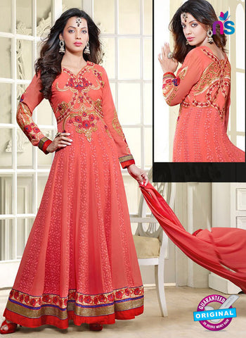 Kessi 3551 Red Anarkali Suit