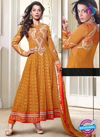 Kessi 3553 Orange Anarkali Suit