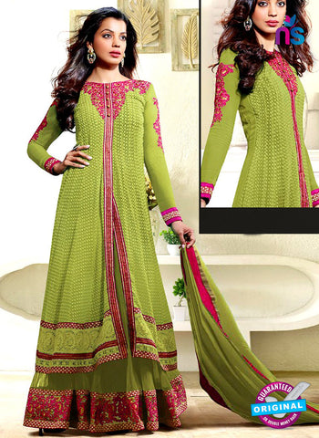 Kessi 3554 Green Indo Western Suit
