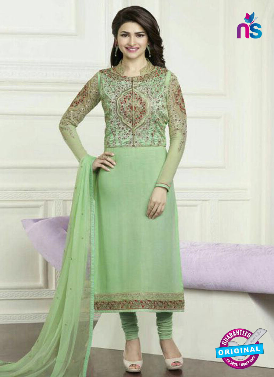 Vinay Fashion 3573 Green Georgette Party Wear Suit