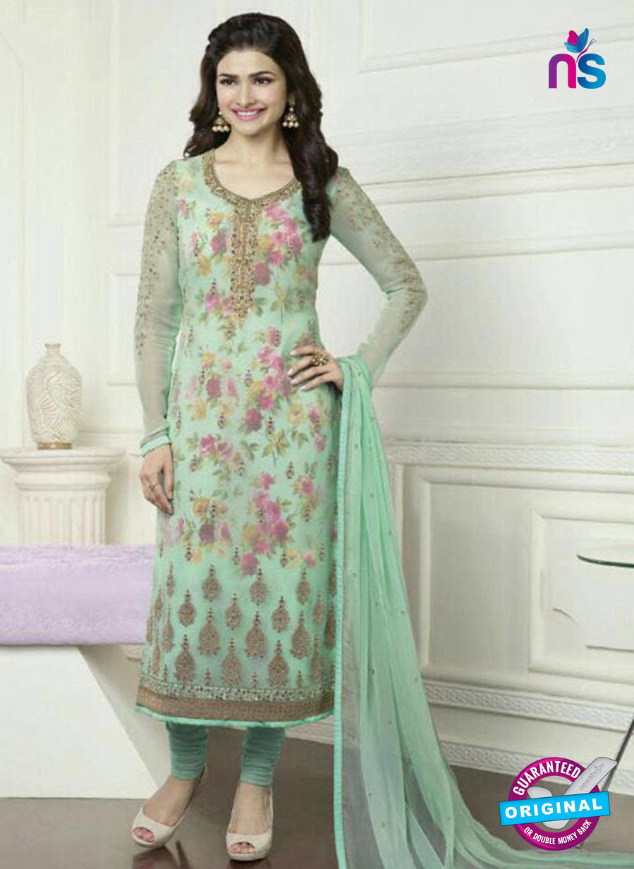 Vinay Fashion 3577 Green Georgette Party Wear Suit