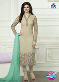 Vinay Fashion 3578 Beige Georgette Party Wear Suit