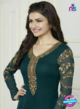 Vinay Fashion 3579 Green Georgette Party Wear Suit
