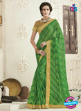 AZ 2248 Green Georgette Party Wear Saree