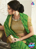 AZ 2248 Green Georgette Party Wear Saree - Sarees - NEW SHOP