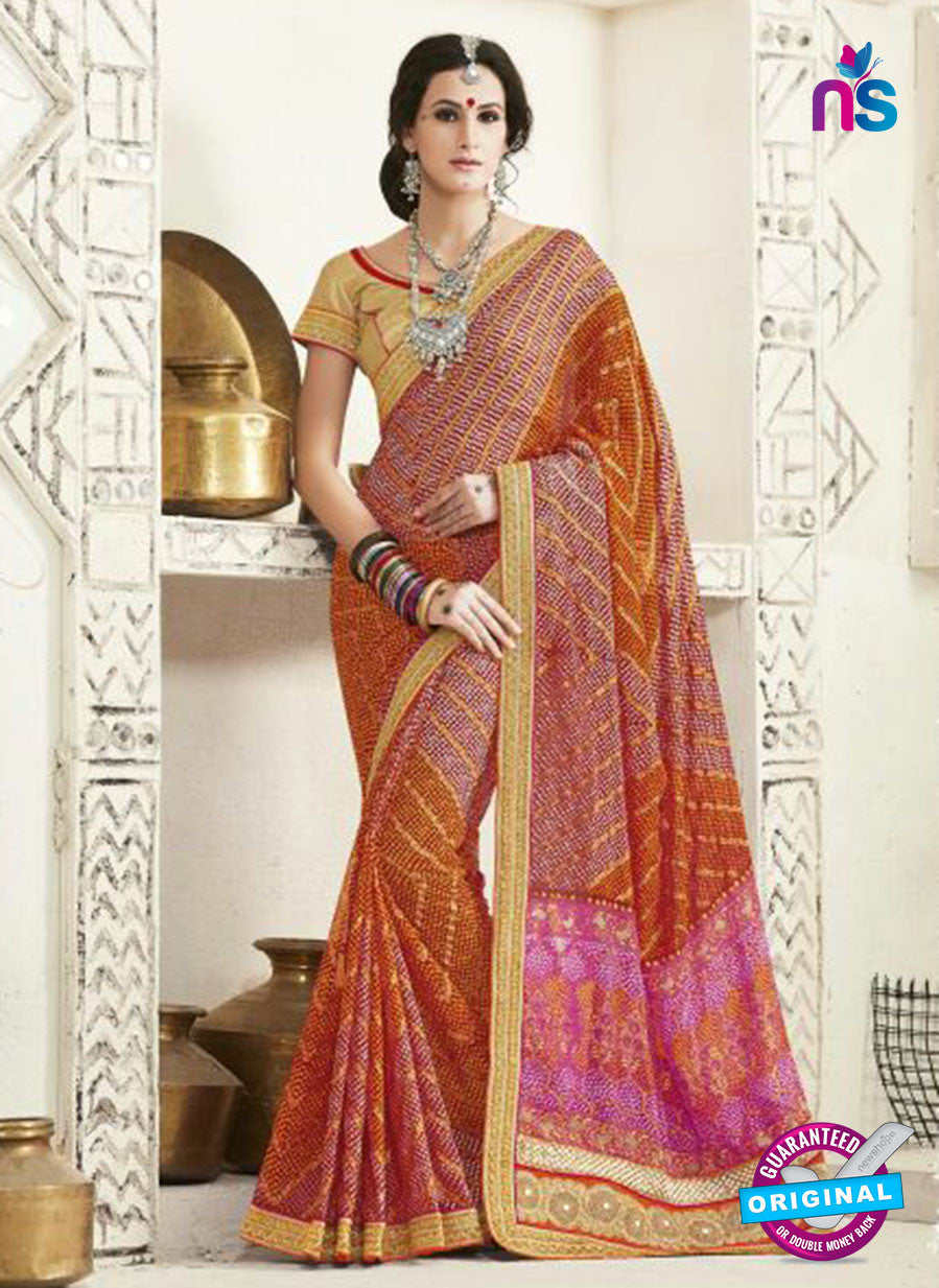 AZ 2249 Multicolor Georgette Party Wear Saree