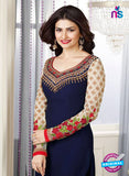 Vinay Fashion 3663 Blue Georgette Party Wear Suit