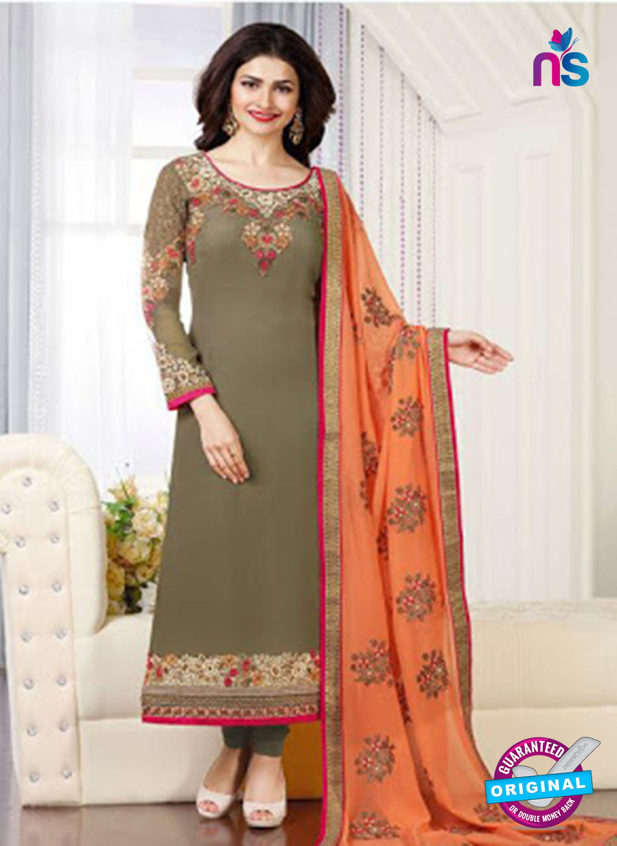Vinay Fashion 3664 Green Georgette Party Wear Suit