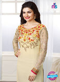 Vinay Fashion 3665 Beige Georgette Party Wear Suit