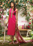 Ganga 3720 Red Color Glace Cotton Designer Suit
