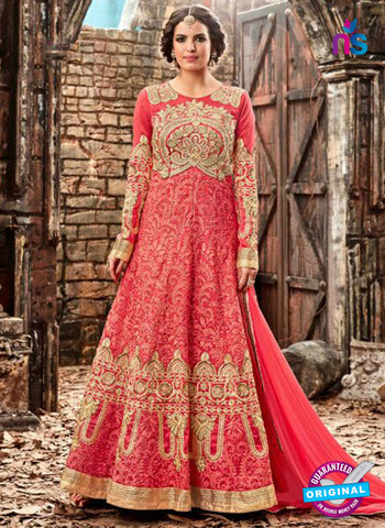 Hotlady 3774 Red Anarkali Suit