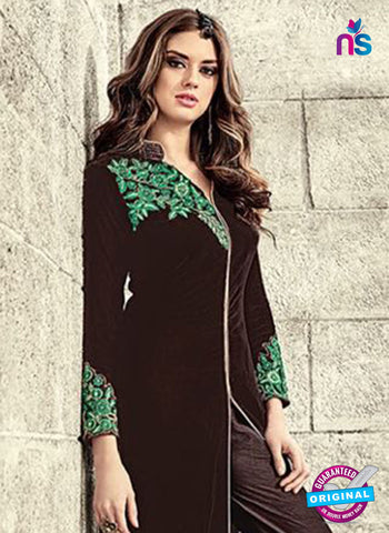 Black Velvet Party Wear Suit
