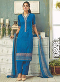 Ganga 3804 Blue Color Pashmina Designer Suit