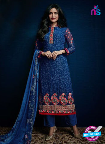 AZ 3519 Blue Georgette Party Wear Suit - Salwar Suits - NEW SHOP