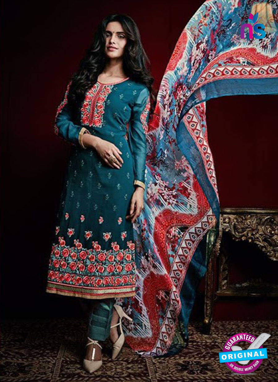 AZ 3520 Blue Georgette Party Wear Suit - Salwar Suits - NEW SHOP