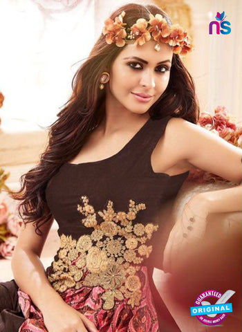 Maisha 3903 Brown Indo Western Suit