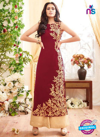 Maisha 3905 Maroon Party Wear Suit