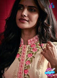 AZ 3522 Beige Georgette Party Wear Suit Online