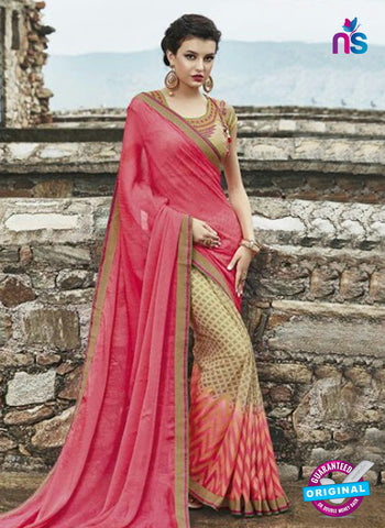 AZ 3723 Beige Georgette Formal Saree
