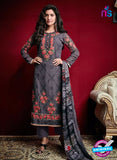 AZ 3524 Dark Grey Georgette Party Wear Suit